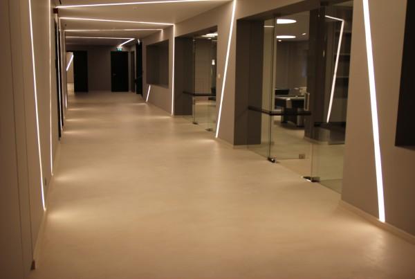 beton cire floor